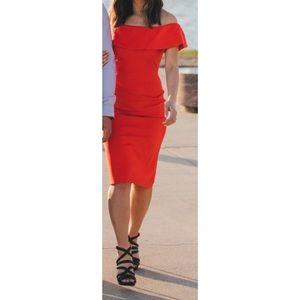 813eb89161 Aritzia Dresses   Babaton Ruslan Offtheshoulder Dress 2   Poshmark